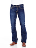 Cowboy Up Men's Will Slim Fit Jean - Dark Wash