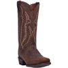 Dan Post Men's Renegade CS Distressed Leather Western Boots - Bay Apache