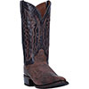 Dan Post Men's Carr Leather R Toe Western Boots - Sand/Chocolate