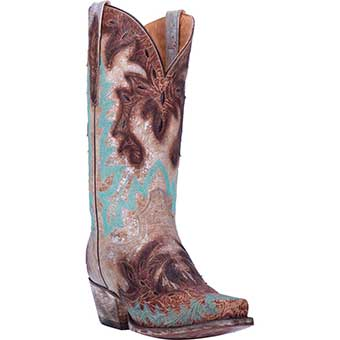 Dan Post Women's All Eyes On Me Boots - Brown/Silver