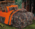 Luxury Oak Camo Comforter Set