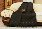 Laredo Barn Star Throw