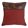 Ruidoso Euro Sham - Red/Brown