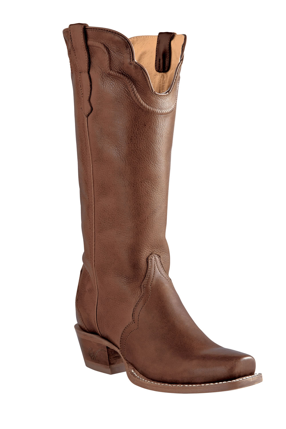 ddd0253fd30 Old West Outlaw Women's Narrrow Square Toe Tri-Ad Boots - Adrian Tan