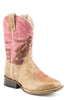 Roper Youth's Rodeo Barrel Racer Square Toe Boots
