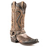 Stetson Men's Outlaw Harness Boots - Bleached  Brown