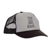 Tin Haul Men's Semi Trucker Cap - Black/Grey
