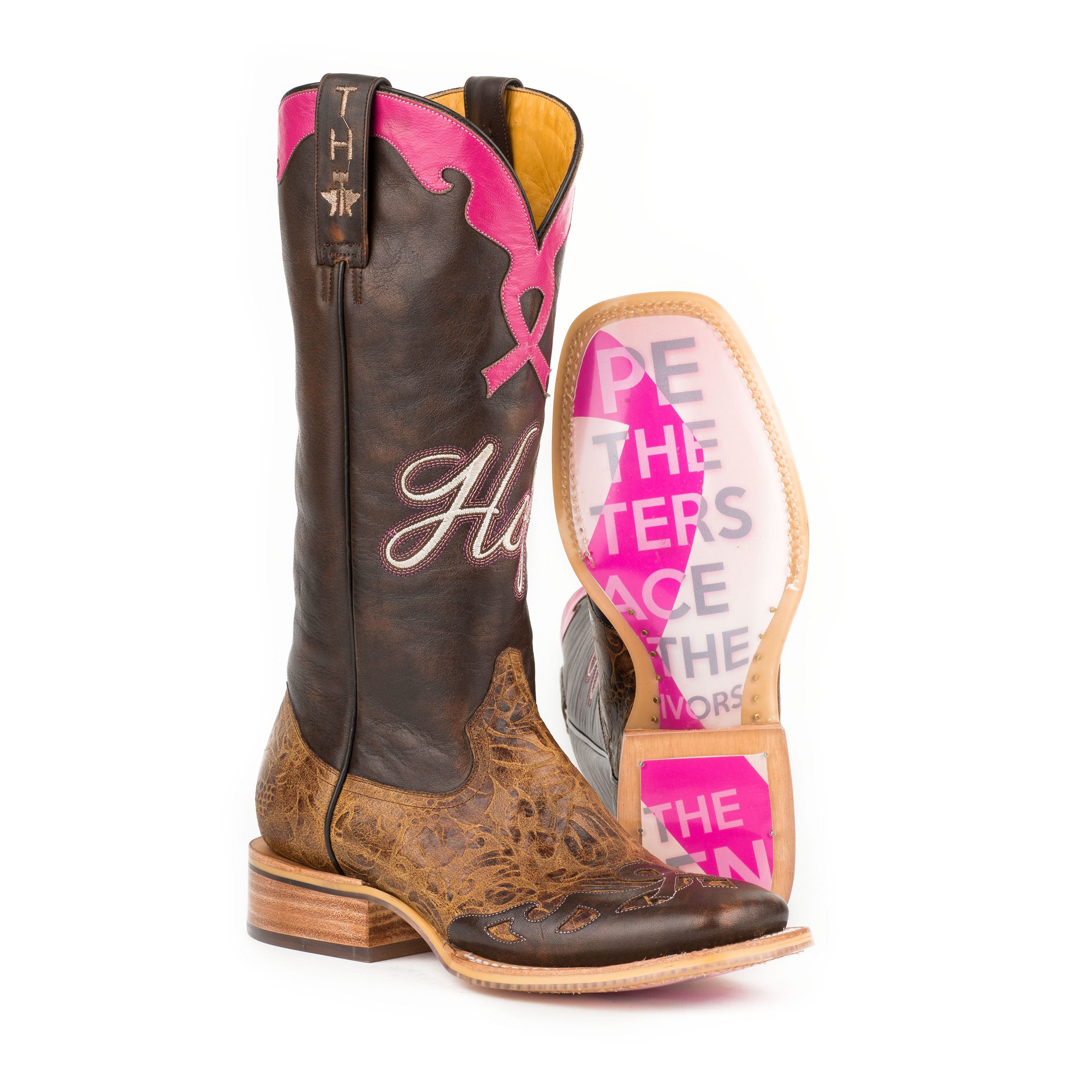 47a9762fa50 Tin Haul Ladies Hope Boots w/Staying Strong Sole