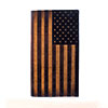 Nocona USA Flag Leather Rodeo Wallet/Checkbook Cover