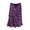 Outback Ladies Pia Tank Top - Bright Plum
