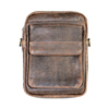 Scully Aerosquadron Collection Walnut Antique Lamb Shoulder Bag