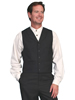 Men's WAH MAKER 4 Pocket Wool Blend Vest - Black