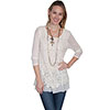 Scully Honey Crochet Tunic - Ivory