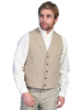 Men's RangeWear Canvas Vest - Sand