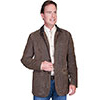 Scully Men's  Leather Blazer - Brown