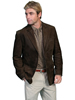 Scully Men's Frontier Leather Blazer - Brown