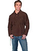 Scully� Men's Boar Suede Mountain Man Shirt - Chocolate
