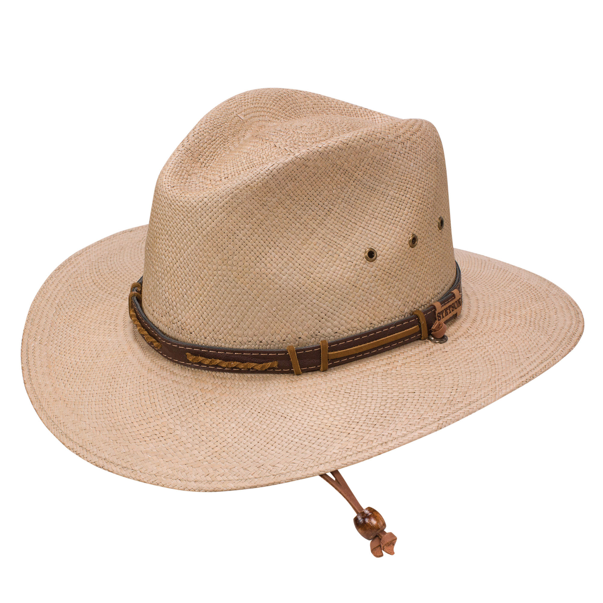 7ca91b5c407a4 Stetson Vance Panama Straw Hat. Tap to expand
