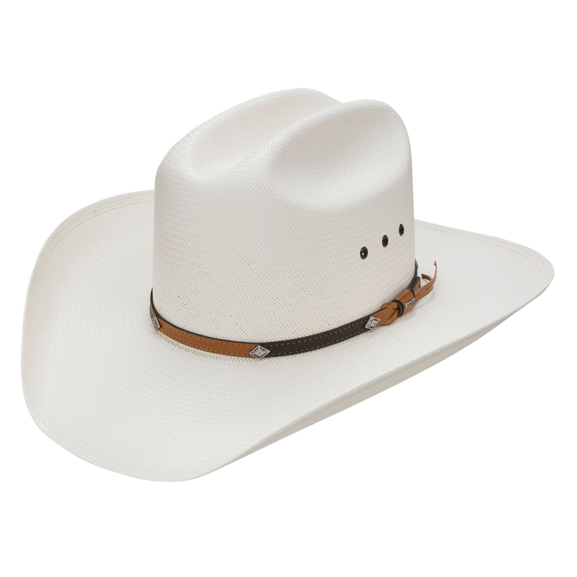 275a9a5037fa6 Stetson Grant K 10X Straw Hat. Hover to zoom