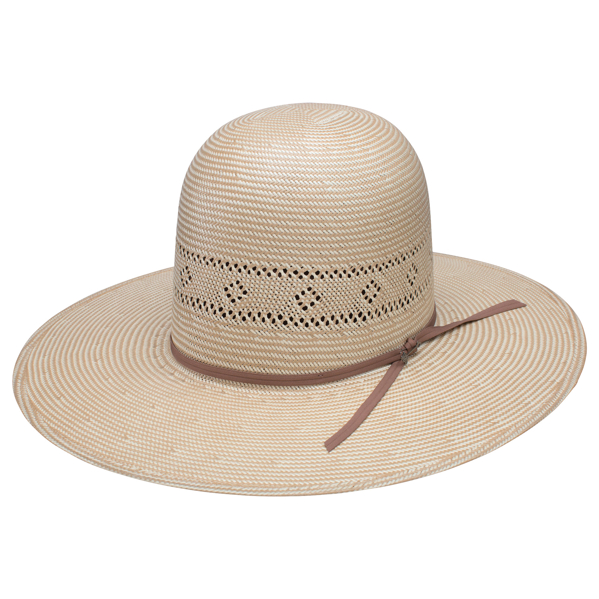 f990ea982de Stetson River Oaks 10X Straw Hat - Unshaped. Hover to zoom