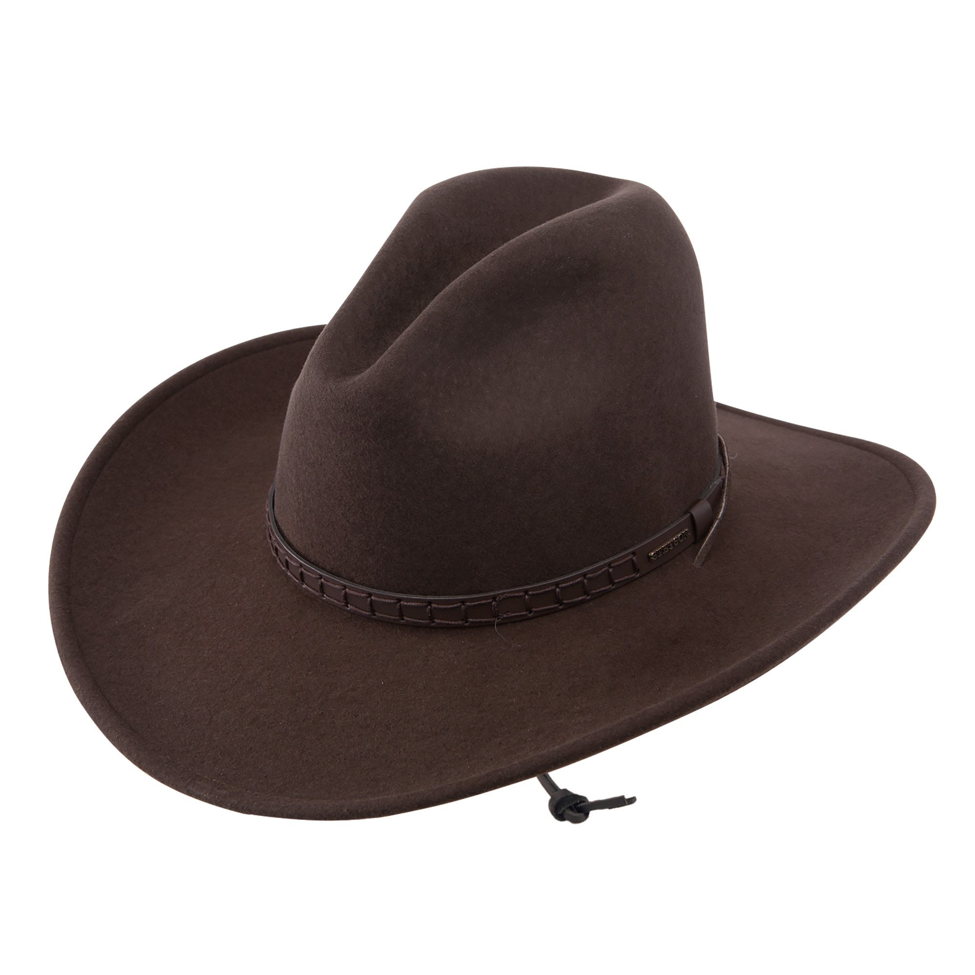 92e9340f60947 Pungo Ridge - Stetson Cross Creek Crushable Wool Hat - Mink