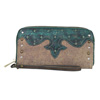 Catchfly Lauren Wallet - Copper/Turquoise