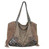 Catchfly Lauren Concealed Carry Hobo Bag - Brown